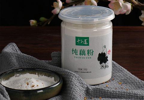 罐装纯手工藕粉