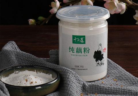 罐装手削纯藕粉
