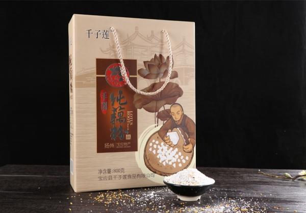 礼盒装手削纯藕粉